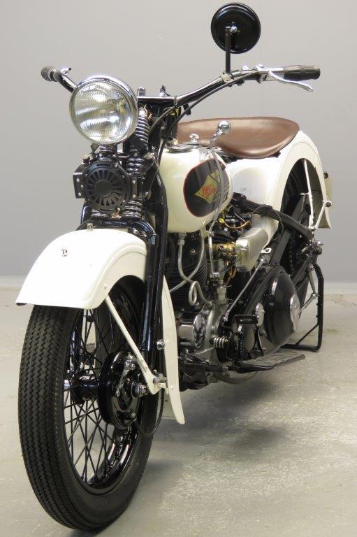 Harley-Davidson 1935 35VD 1200cc 2 cyl sv 2806 - Yesterdays