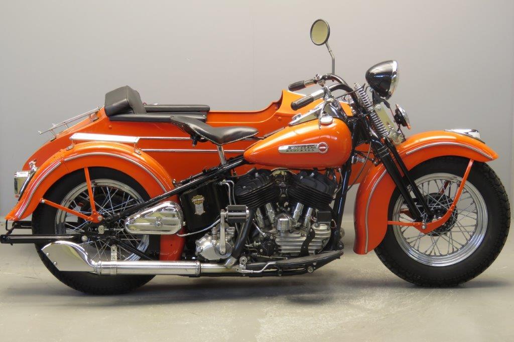 Harley Davidson 1946 U  1200cc 2 cyl sv  2806