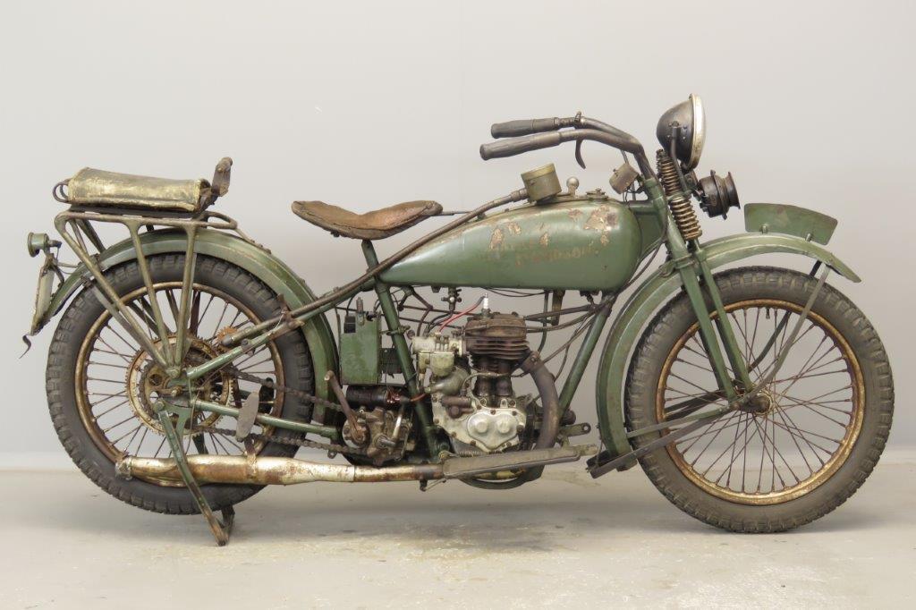 Harley Davidson 1926 Model B 350cc 1 cyl sv  2806