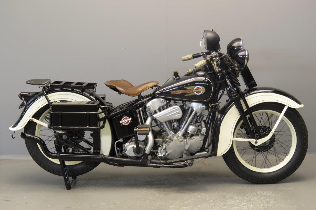 Harley Davidson 1936/37 Police special  2806