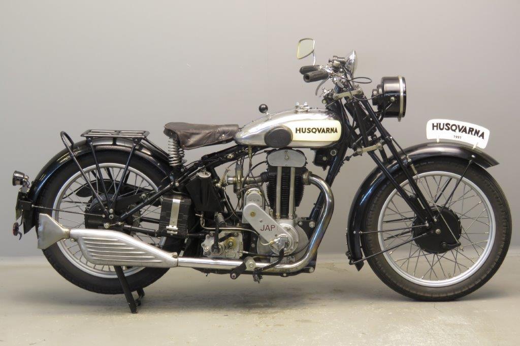 Husqvarna 1931 Model 50TVA 500cc 1 cyl ohv  2806