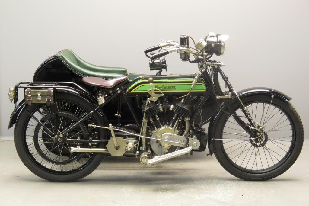 New Imperial 1917 8HP 1000cc 2 cyl sv  2806