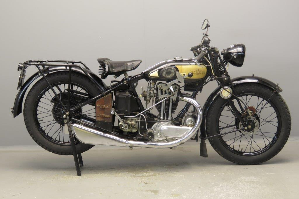 Raleigh 1930 Model MH30 496cc 1 cyl ohv  2806