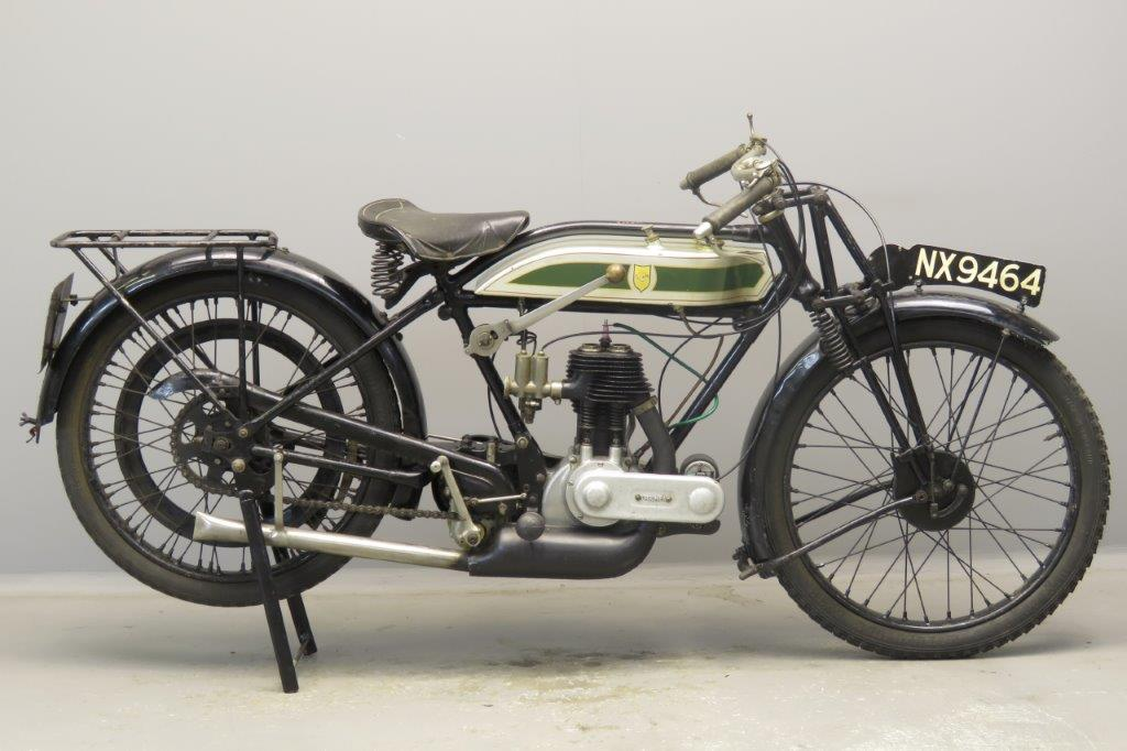 Triumph 1925 Model P 500cc 1 cyl sv  2806