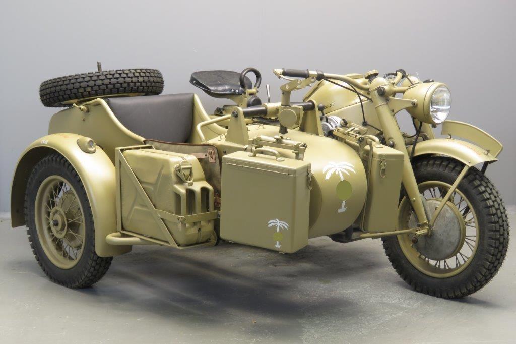 Zündapp 1942 KS750  2 cyl 750cc ohv  2806