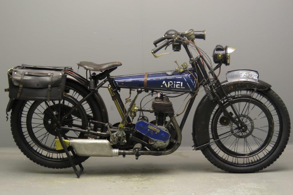 Ariel 1925 Lightweight 250cc 1 cyl sv  2807
