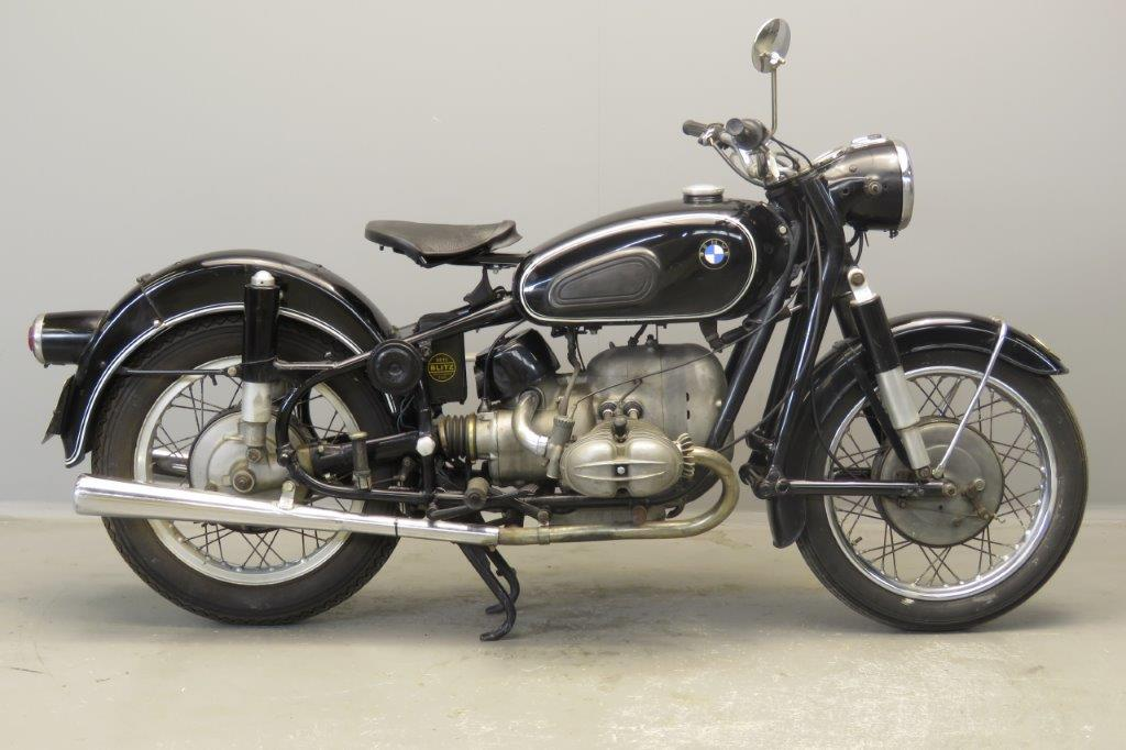 BMW 1965 R69S-50/2 2 cyl ohv  2807