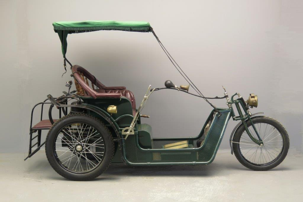 Carter ca 1919 Electric tricycle