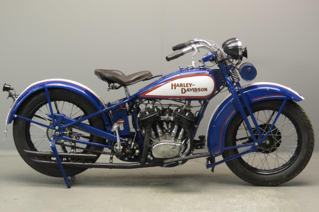Harley Davidson 1930 Model D 750cc 1 cyl sv  2807