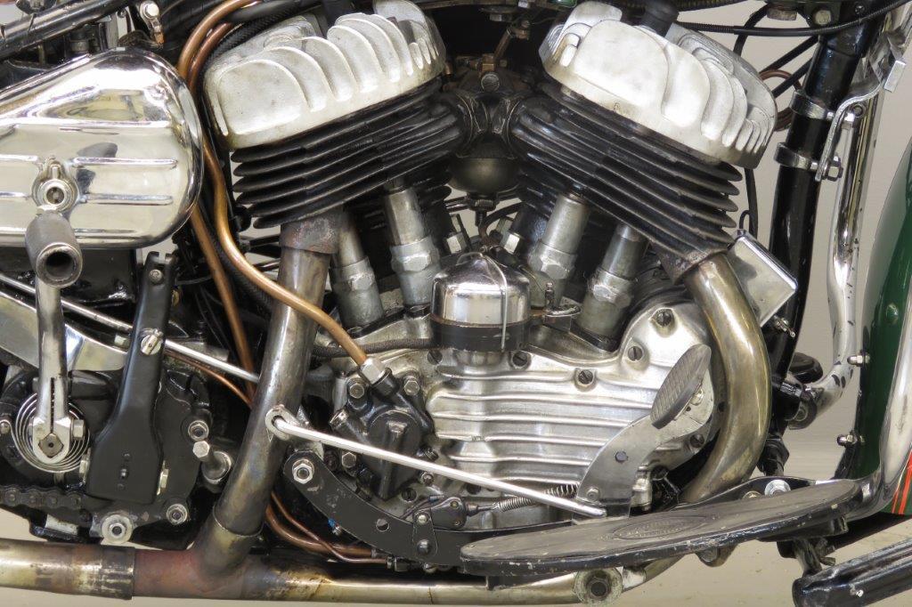 Harley Davidson: Harley Davidson 1943 WLC 750cc 2 Cyl Sv 2807