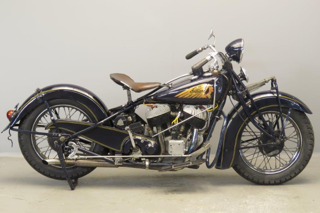 Indian 1937 / 48  Chief 1200cc 2 cyl sv  2807