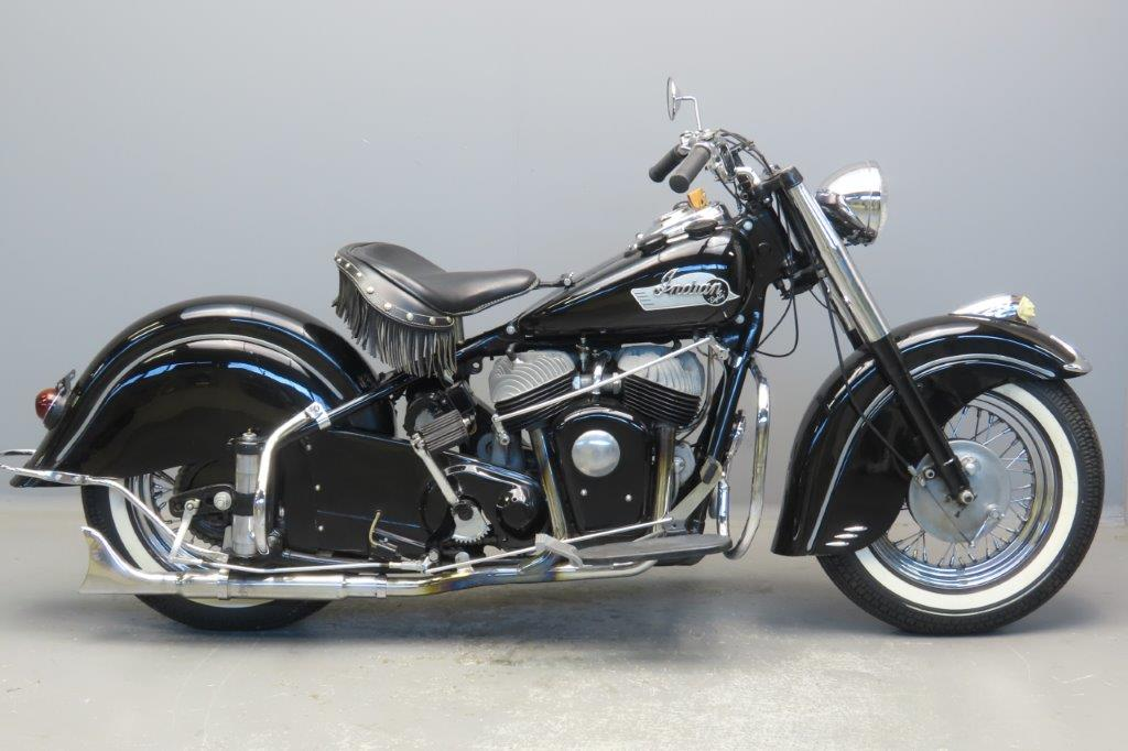 Indian 1953 Chief 1340cc 2 cyl sv  2807