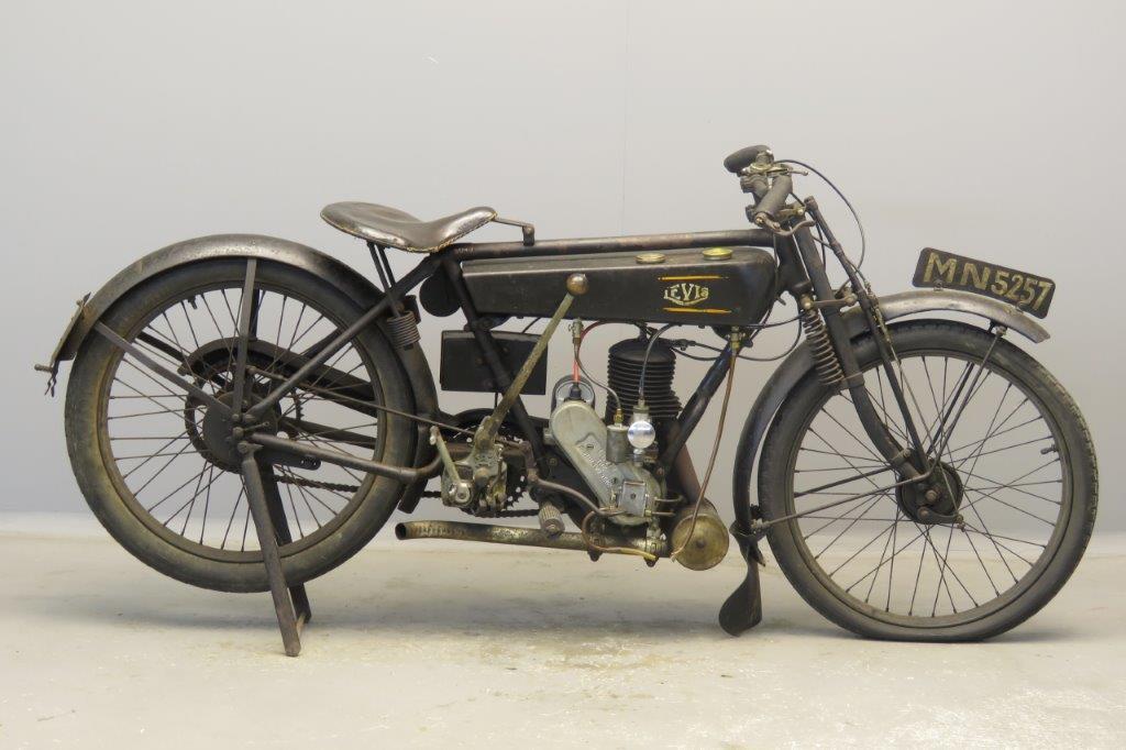 Levis 1927 Model M 250cc 1 cyl ts  2807