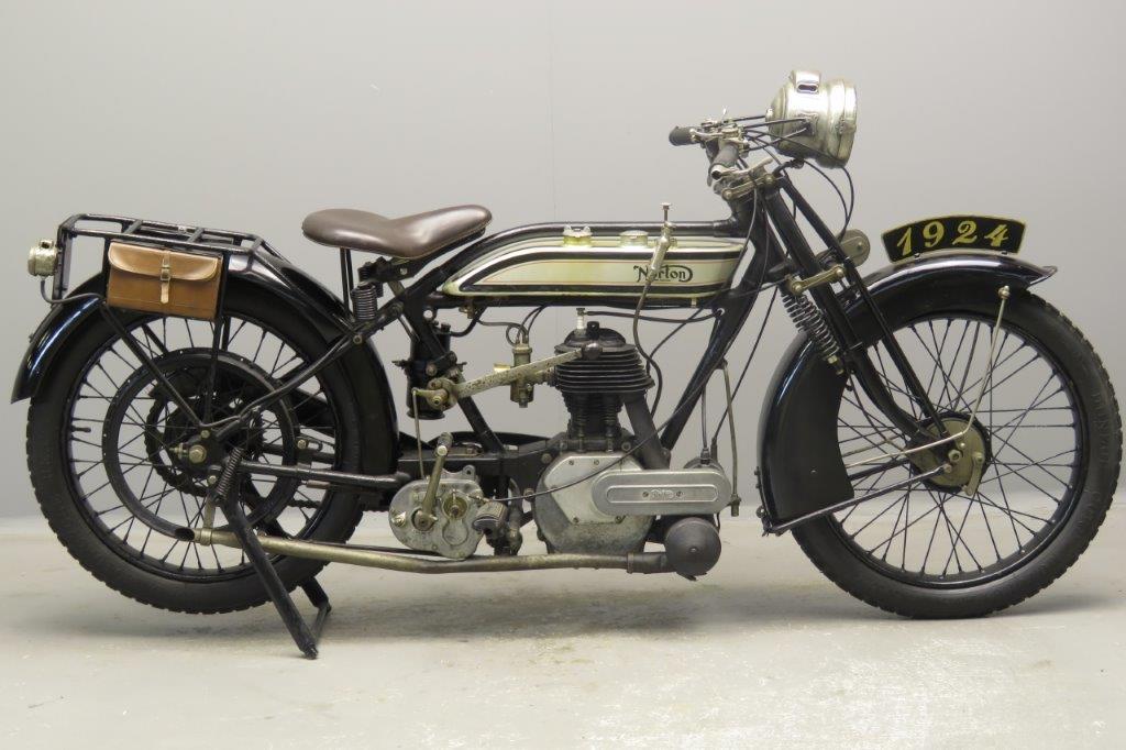 Norton 1924 16 H 500cc 1 cyl sv  2807