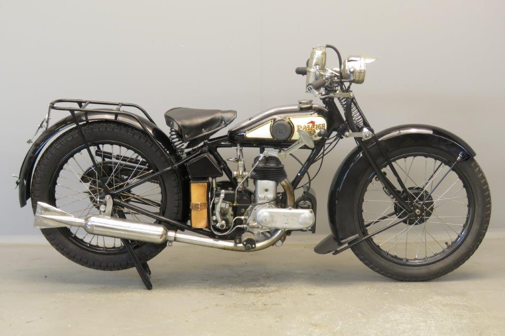 Raleigh 1930 298cc 1 cyl sv  2807