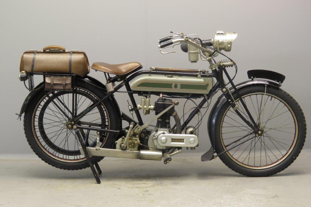 Triumph 1916 550cc 1 cyl sv  2807