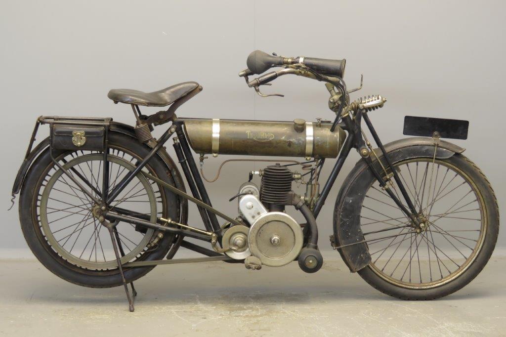 Triumph 1920 Junior 225cc 1 cyl ts  2807