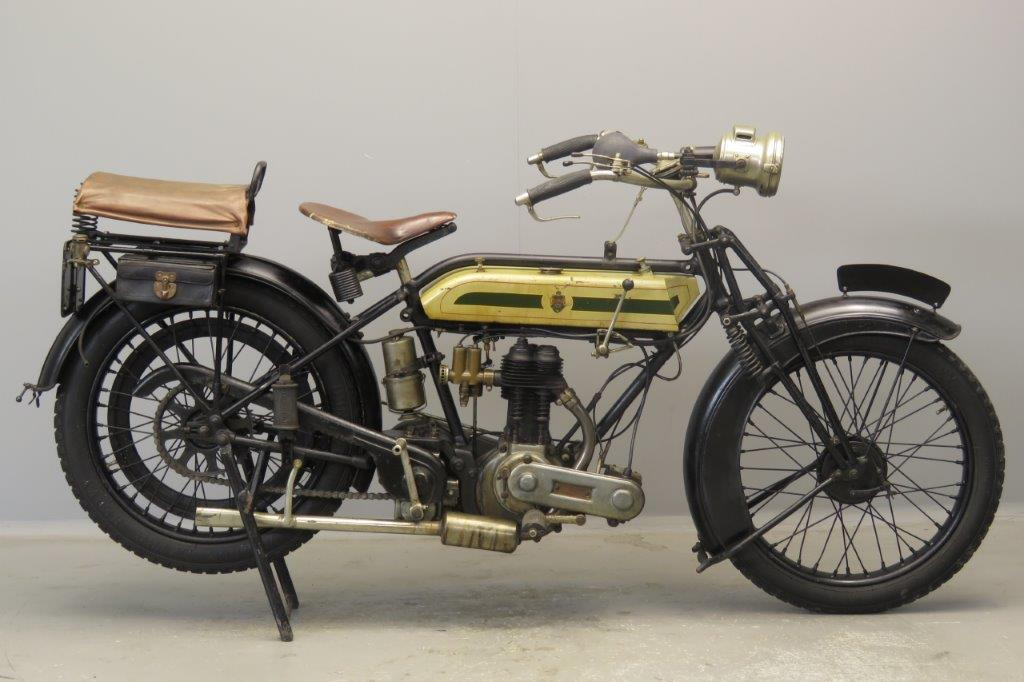 Triumph 1924 SD 550cc 1 cyl sv  2807
