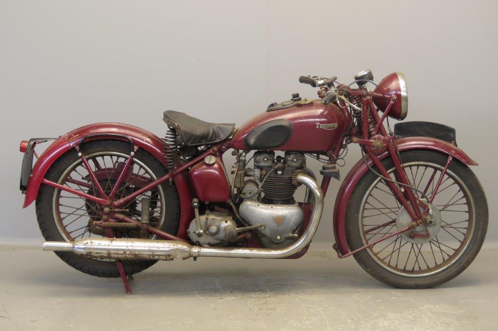 Triumph 1938 Speed Twin 500cc 2 cyl ohv  2807
