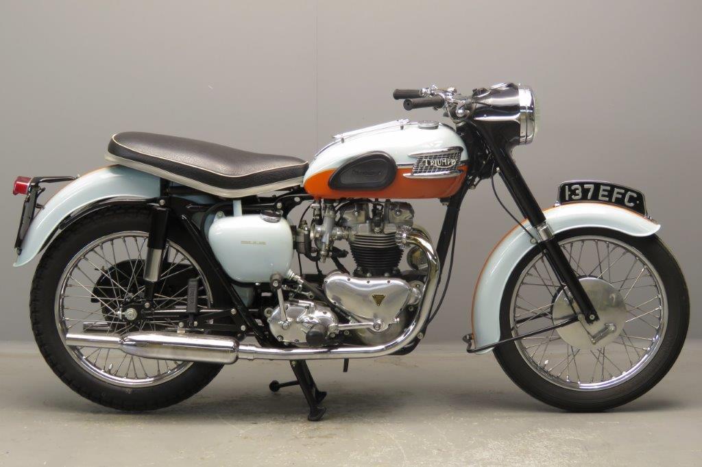 Triumph 1958 Bonneville 650cc 2 cyl ohv  2807