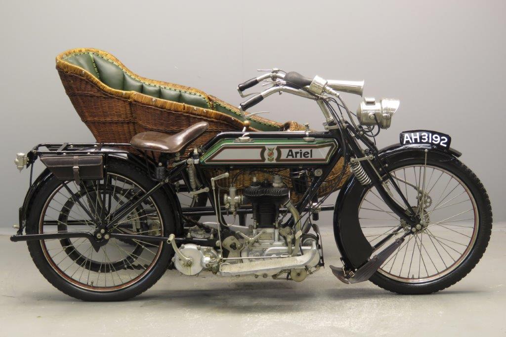 Ariel 1918 3½hp 500cc 1 cyl sv  2808