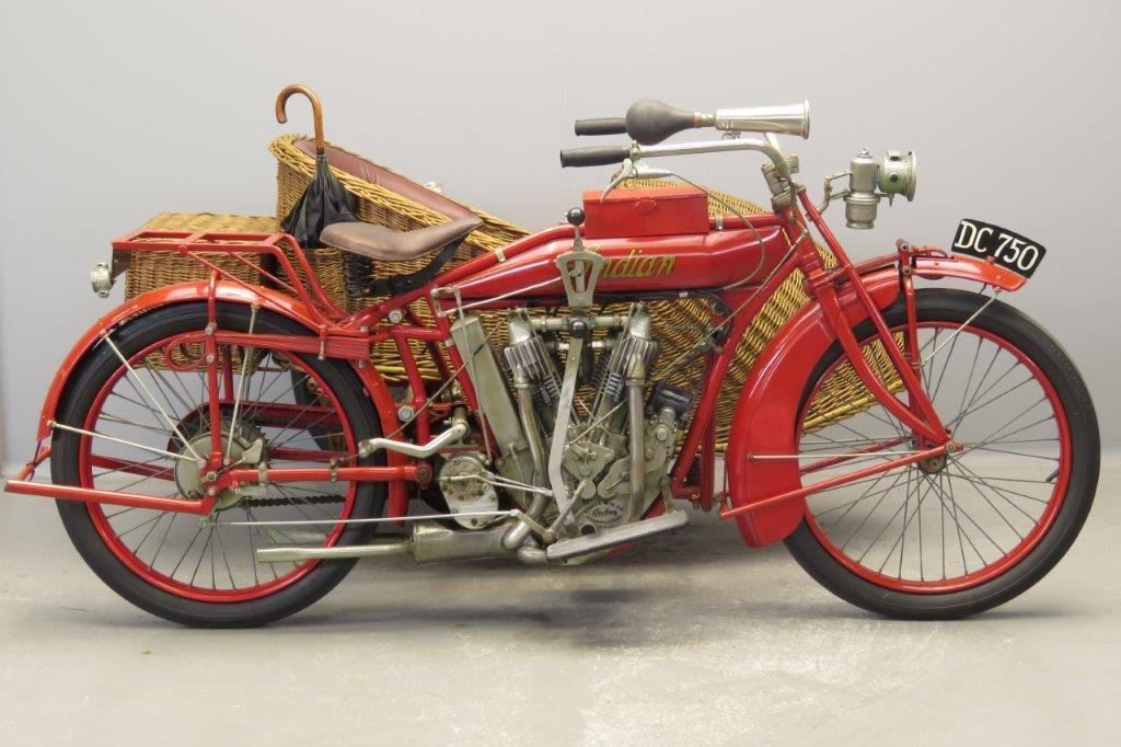 Indian 1915 C2 Big Twin 1000cc 2 cyl ioe  2808