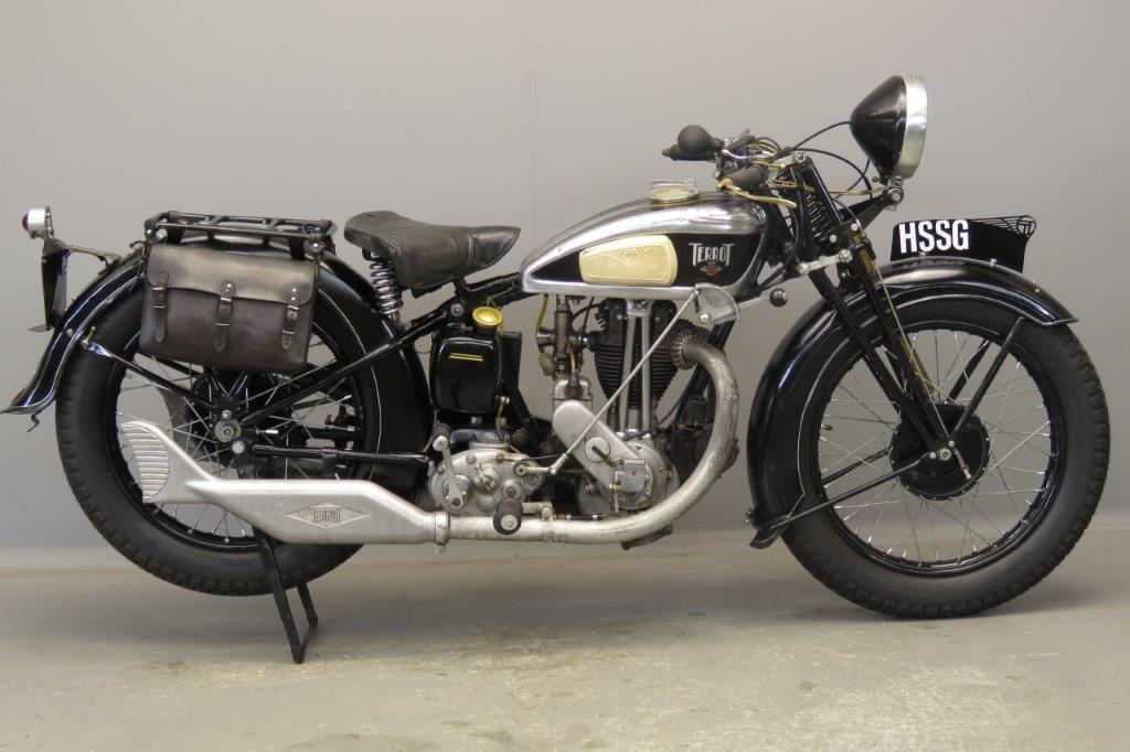 Terrot 1936 HSSG 350cc 1 cyl ohv  2808