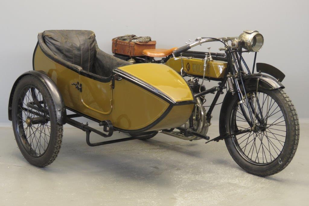 Wolsit 1914 3½hp 450cc 1 cyl sv  2808