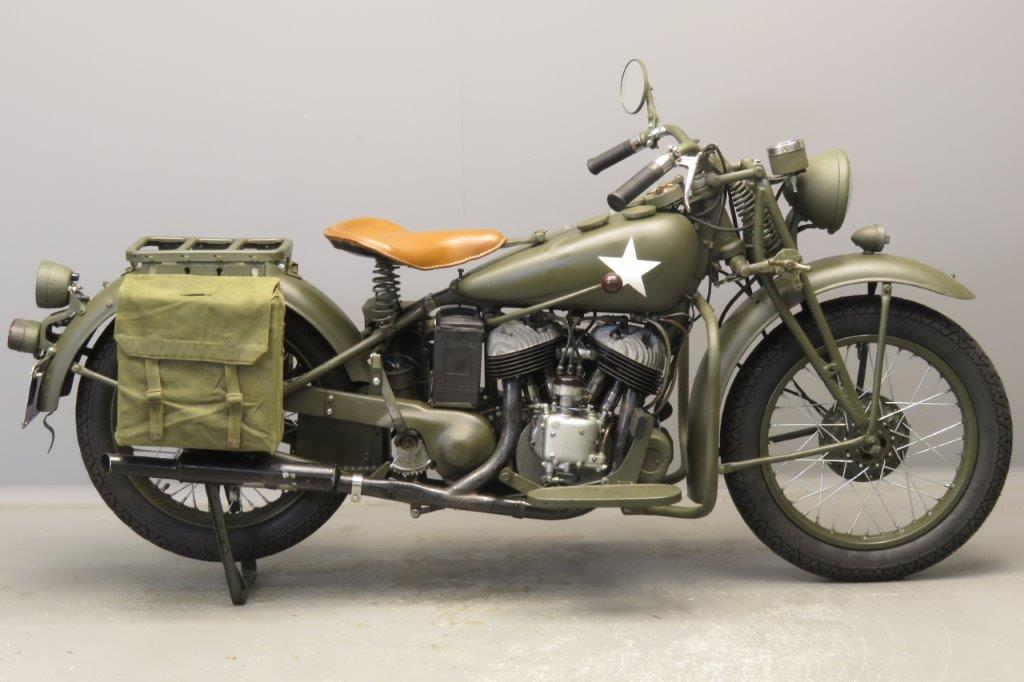 Indian 1941 Model 741 500cc 1 cyl sv  2809