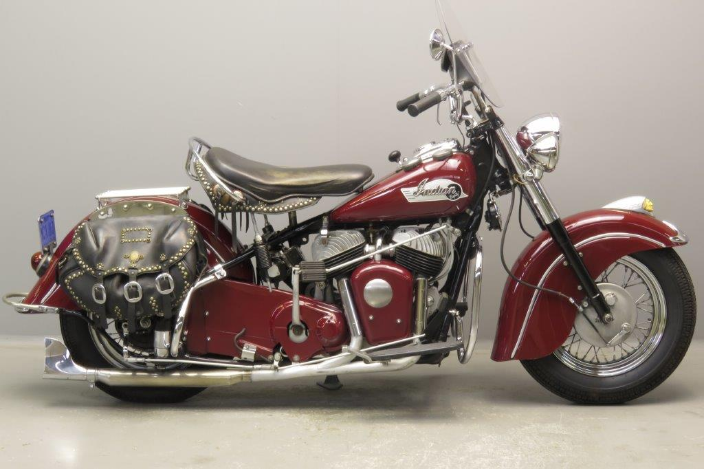 Indian 1953 Chief 1340cc 2 cyl sv  2809
