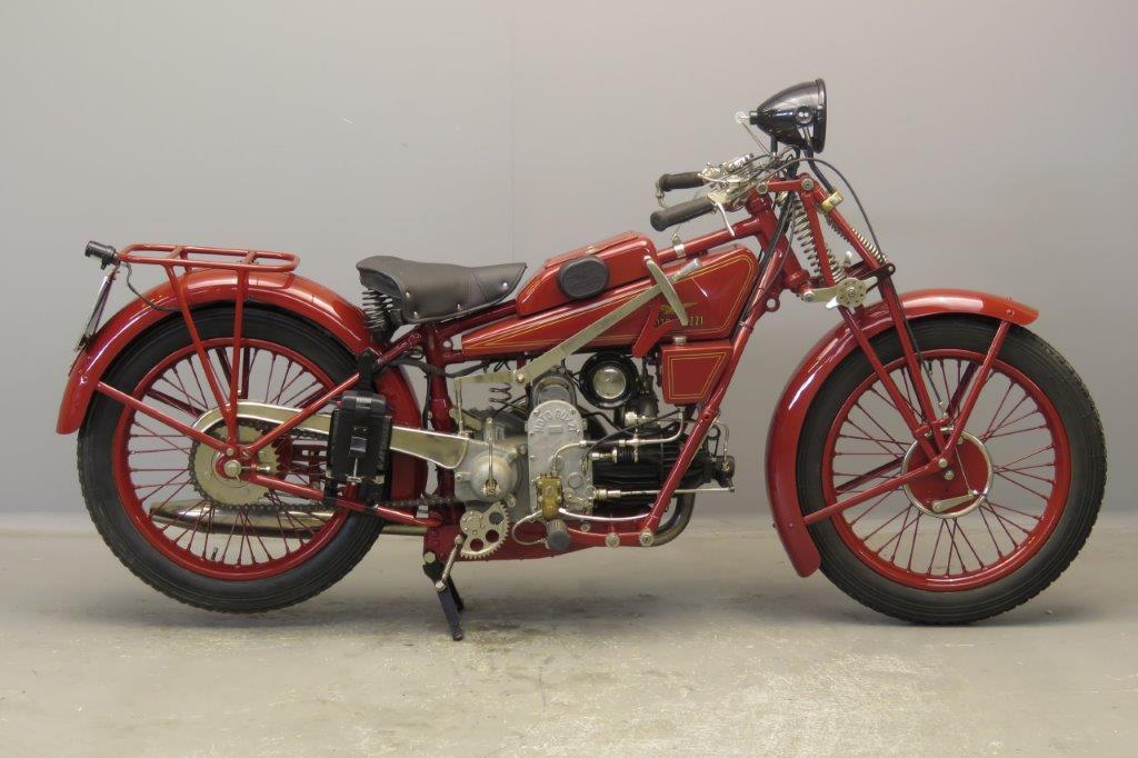 Moto Guzzi 1929 Sport 14 500cc 1 cyl ioe  2809
