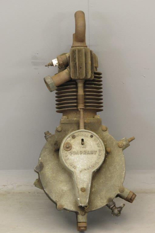 Quadrant motorcycle engine 2809