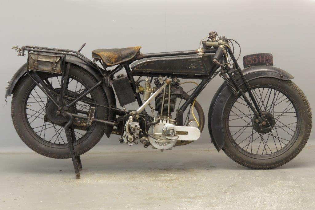 Sarolea 1925 25F 350cc 1 cyl ohv  2809