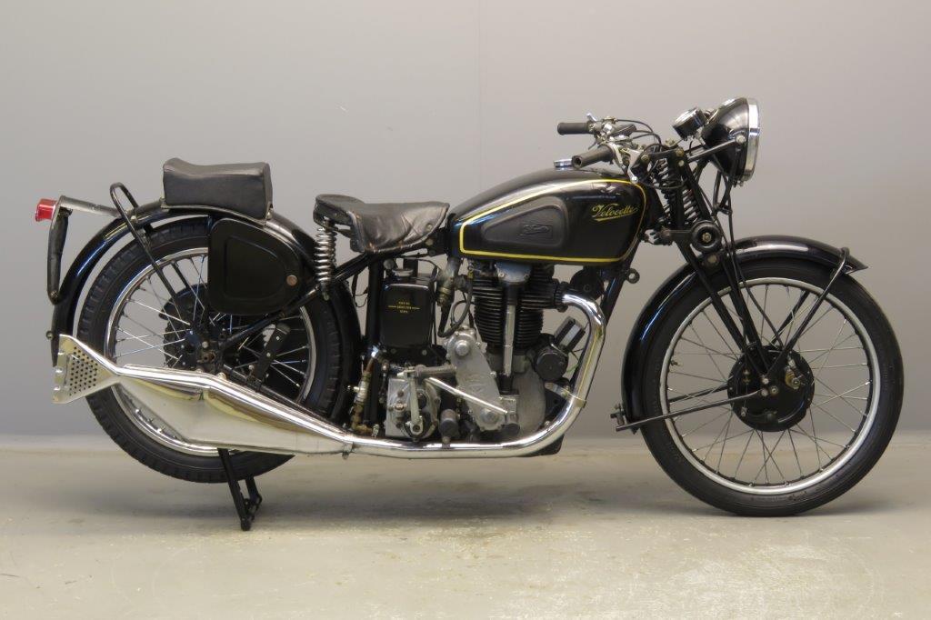 Velocette 1938 KSS 350cc 1 cyl ohc  2809