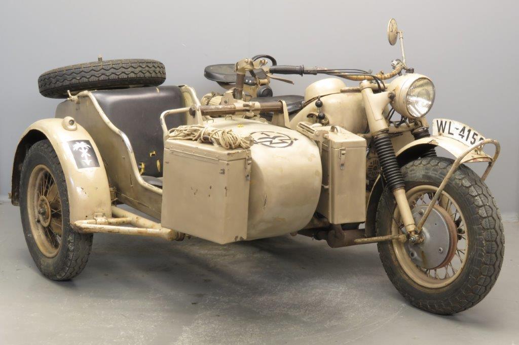 BMW 1942 R75 748cc 2 cyl ohv  2810