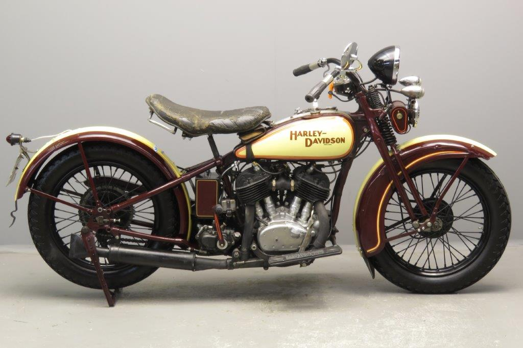 Harley Davidson 1931 VL 1200cc 2 cyl sv  2810