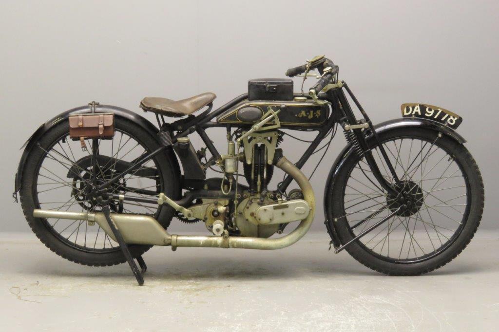 AJS 1925 E6 Big Port 350cc 1 cyl ohv  2811