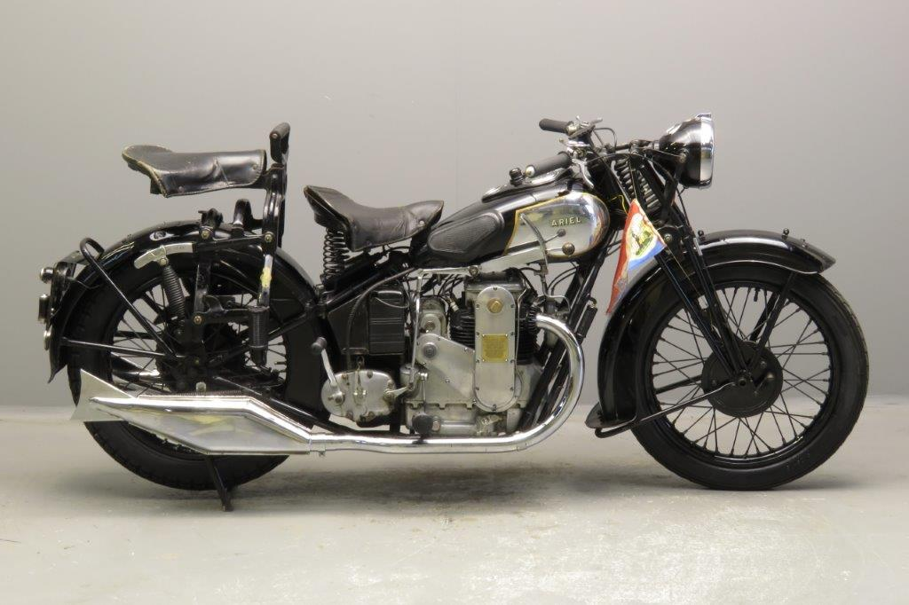 Ariel 1932 Square four 600cc 4 cyl ohc  2811