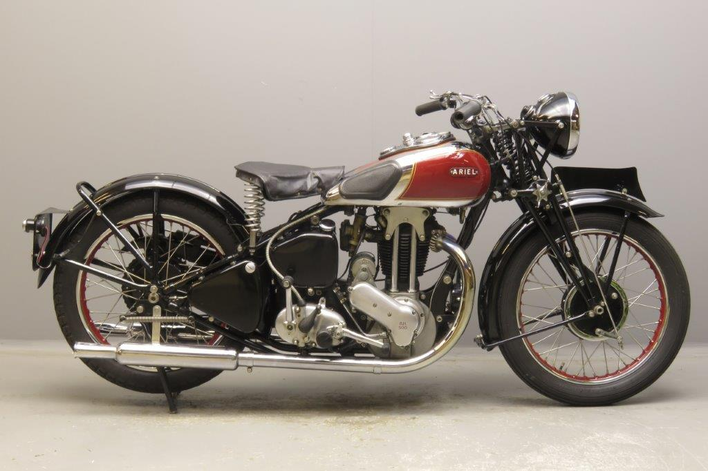 Ariel 1935 Red Hunter 500cc 1 cyl ohv  2811