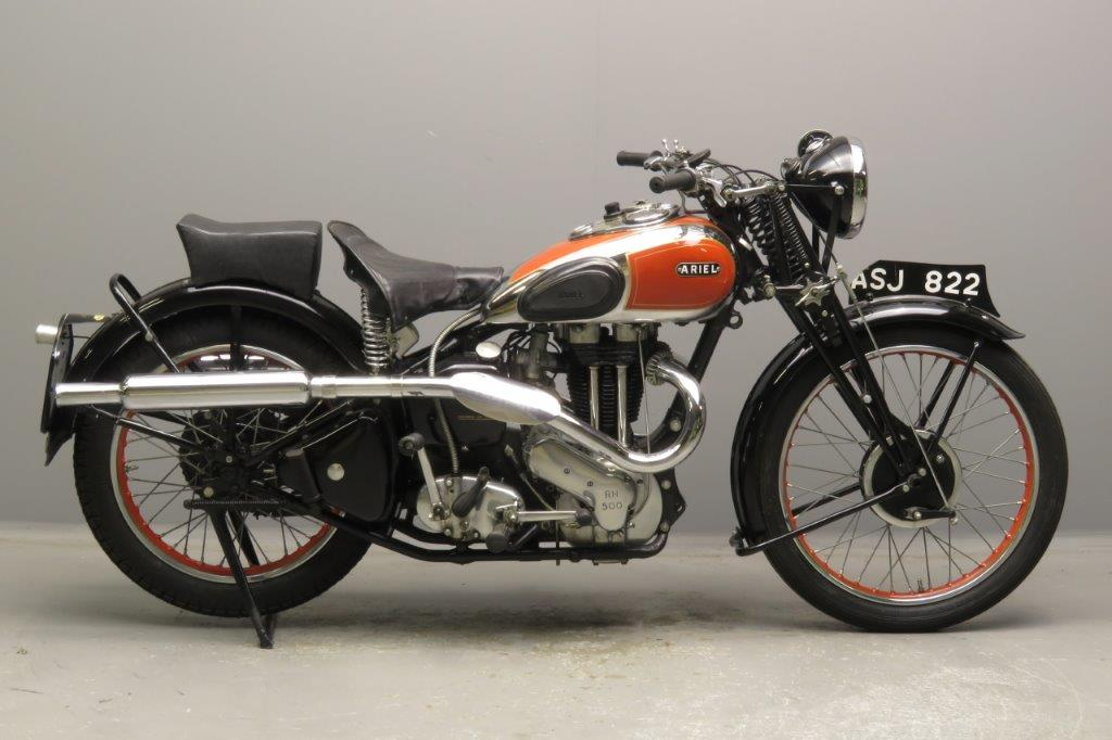 Ariel 1939 Red Hunter 500cc 1 cyl ohv  2811