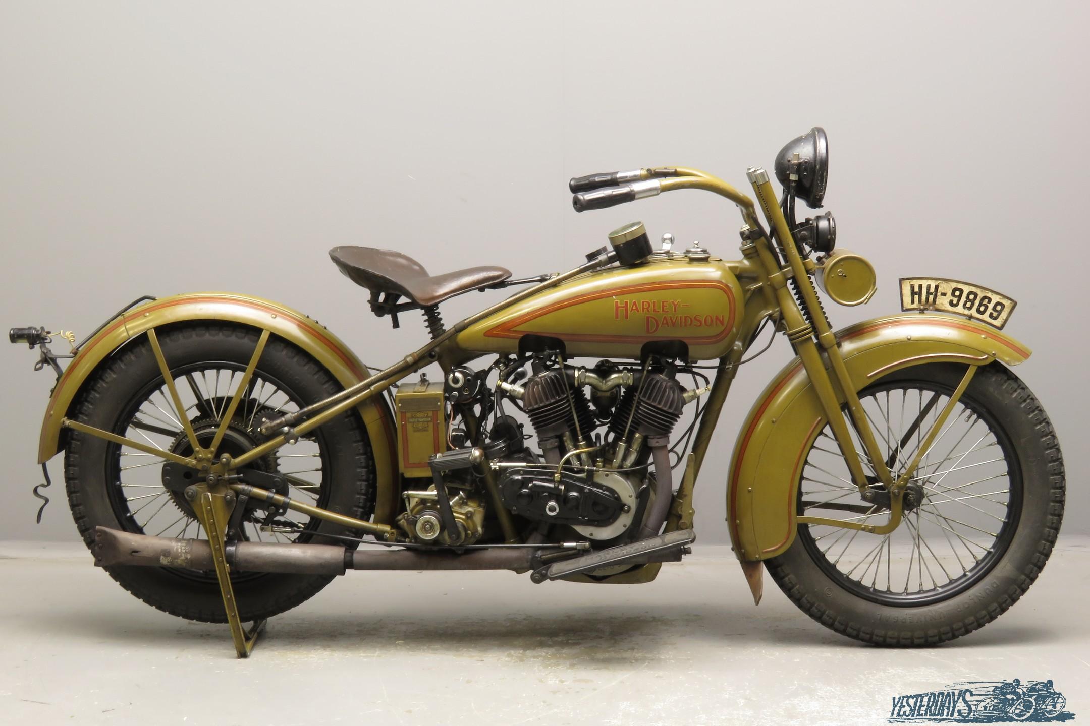 Harley-Davidson 1925  25JE  989cc 2 cyl ioe  2811