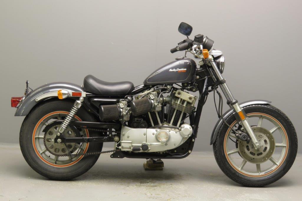 Harley Davidson 1983 XR1000  2 cyl ohv  2811