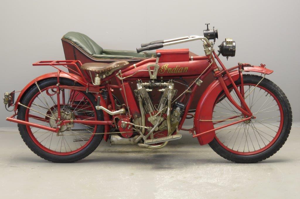 Indian 1915 combination 1000cc 2 cyl ioe 2811