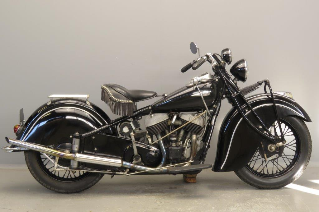 Indian 1940 Chief 1200cc 2 cyl sv  2811