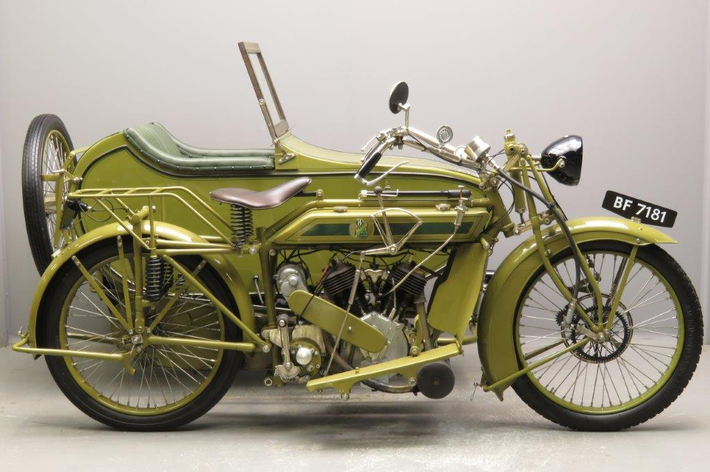 Matchless 1920 model H combination  2811