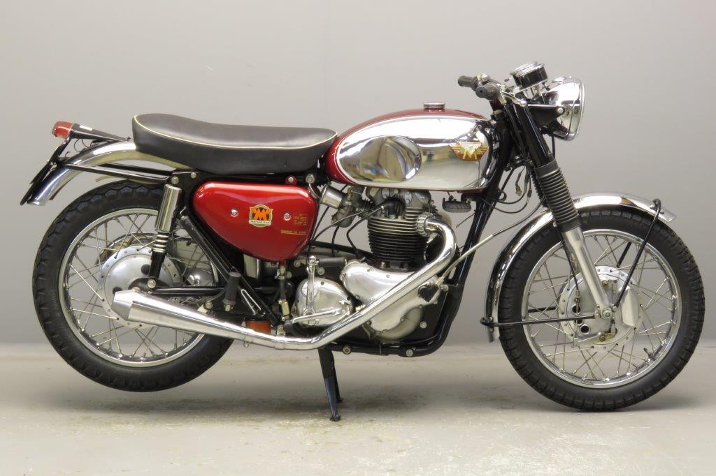 Matchless1965 CSR 750cc 2 cyl ohv  2811