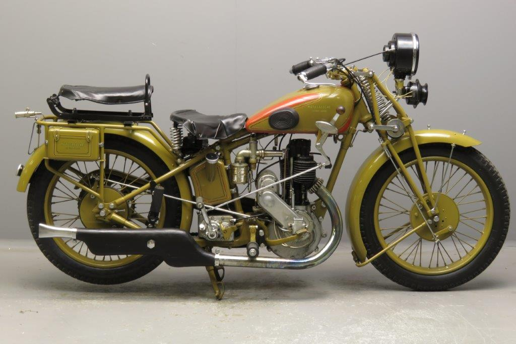 Motosacoche 1929 Model 413 500cc 1 cyl ioe  2811