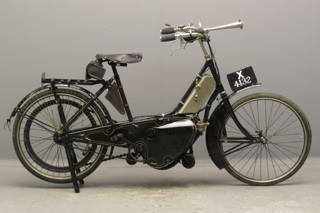 Motosacoche 1908 Ladies model 226cc 1 cyl aiv  2811