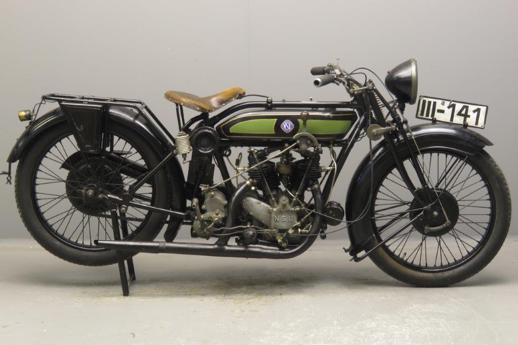 NSU 1927 Model 502 494cc 2 cyl ioe  2811