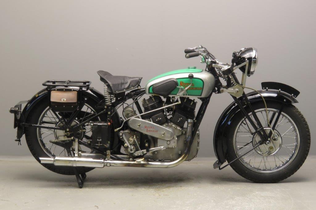 Royal Enfield 1938 KX 1140cc 2 cyl sv  2811